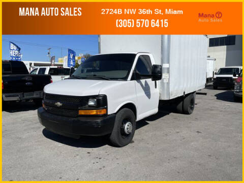 2013 Chevrolet Express Cutaway for sale at MANA AUTO SALES in Miami FL