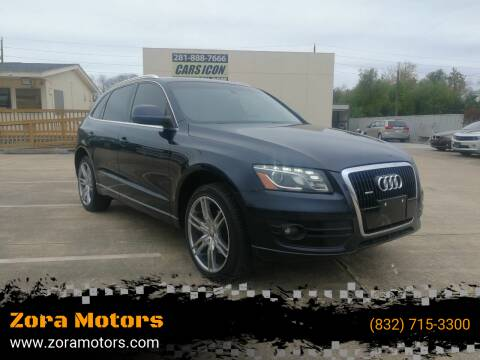 2009 Audi Q5 for sale at Zora Motors in Houston TX