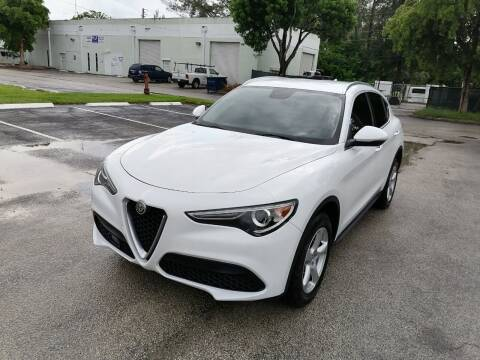 2018 Alfa Romeo Stelvio for sale at Best Price Car Dealer in Hallandale Beach FL