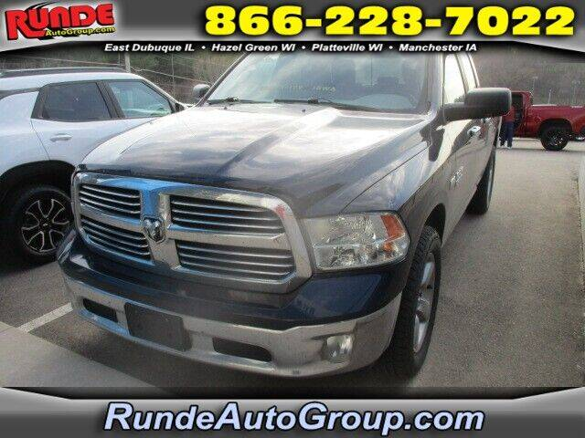 2013 RAM Ram Pickup 1500 for sale at Runde Chevrolet in East Dubuque IL