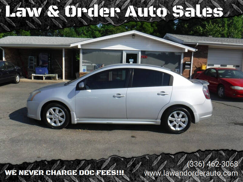 2010 Nissan Sentra for sale at Law & Order Auto Sales in Pilot Mountain NC