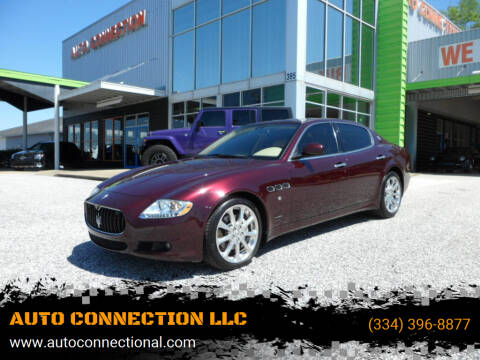 2009 Maserati Quattroporte for sale at AUTO CONNECTION LLC in Montgomery AL