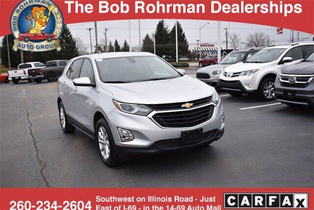 2020 Chevrolet Equinox for sale at BOB ROHRMAN FORT WAYNE TOYOTA in Fort Wayne IN