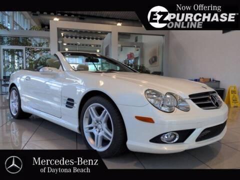 2007 Mercedes-Benz SL-Class for sale at Mercedes-Benz of Daytona Beach in Daytona Beach FL
