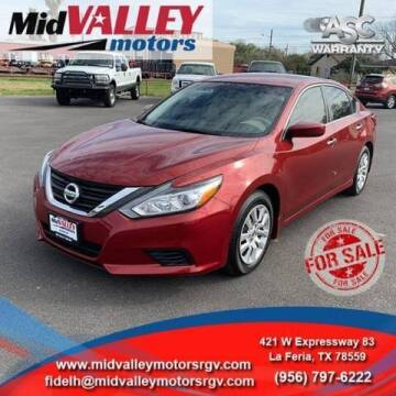 2016 Nissan Altima for sale at Mid Valley Motors in La Feria TX