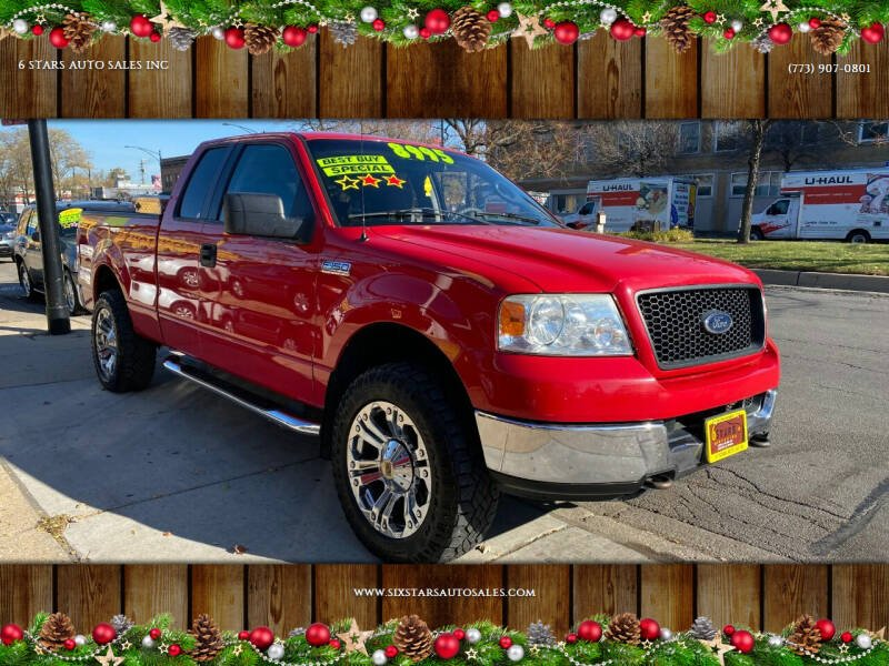 2005 Ford F-150 for sale at 6 STARS AUTO SALES INC in Chicago IL