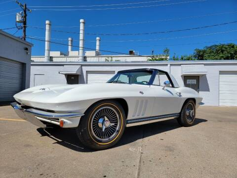 1965 Chevrolet Corvette for sale at Grubbs Motorsports & Collision in Garland TX
