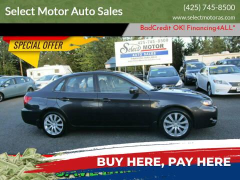 2008 Subaru Impreza for sale at Select Motor Auto Sales in Lynnwood WA