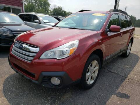 2013 Subaru Outback for sale at Hwy 13 Motors in Wisconsin Dells WI
