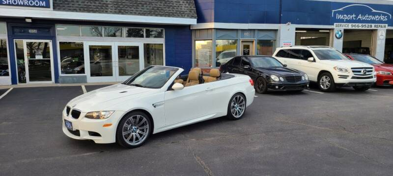 2011 BMW M3 for sale at Import Autowerks in Portsmouth VA