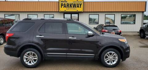 2013 Ford Explorer for sale at Parkway Motors in Springfield IL