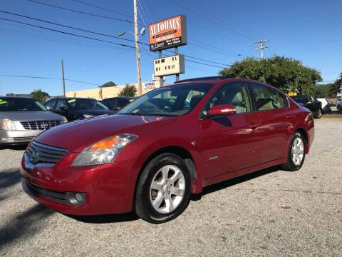 2008 Nissan Altima Hybrid for sale at Autohaus of Greensboro in Greensboro NC