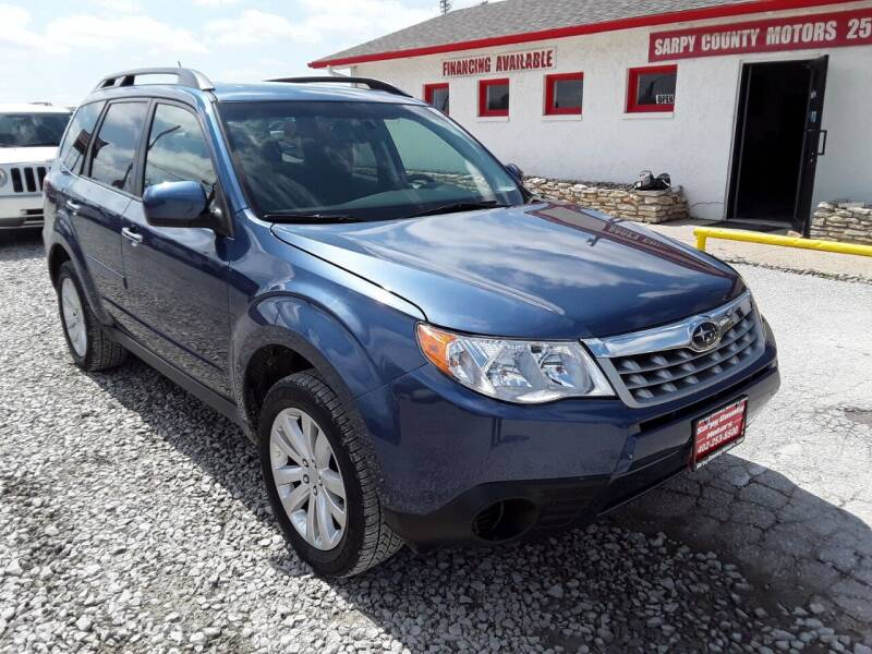 2012 Subaru Forester for sale at Sarpy County Motors in Springfield NE