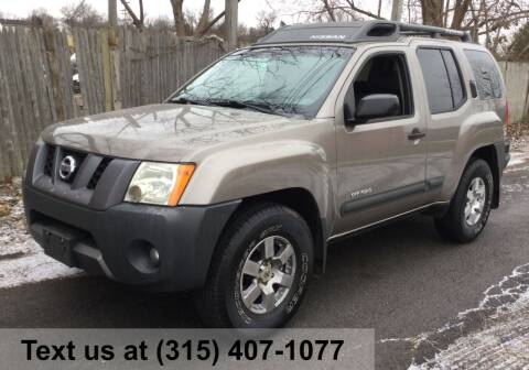 2008 Nissan Xterra for sale at Pete Kitt's Automotive Sales & Service in Camillus NY