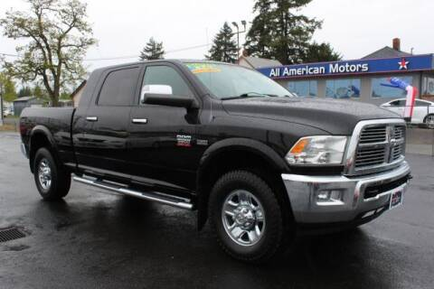 2012 RAM Ram Pickup 2500 for sale at All American Motors in Tacoma WA