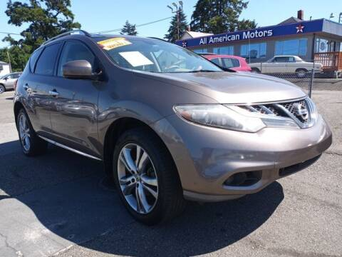2011 Nissan Murano for sale at All American Motors in Tacoma WA