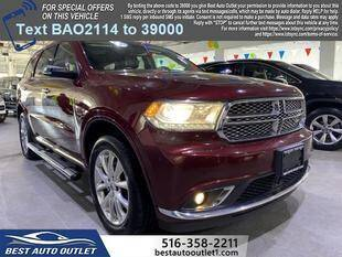 2020 Dodge Durango for sale at Best Auto Outlet in Floral Park NY