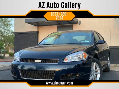2012 Chevrolet Impala for sale at AZ Auto Gallery in Mesa AZ