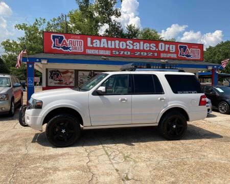 2013 Ford Expedition for sale at LA Auto Sales in Monroe LA