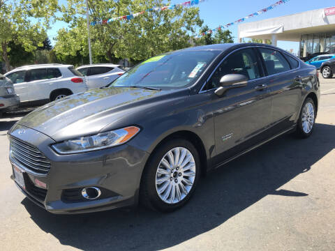 2016 Ford Fusion Energi for sale at Autos Wholesale in Hayward CA