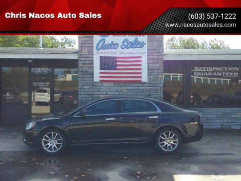 2012 Chevrolet Malibu for sale at Chris Nacos Auto Sales in Derry NH