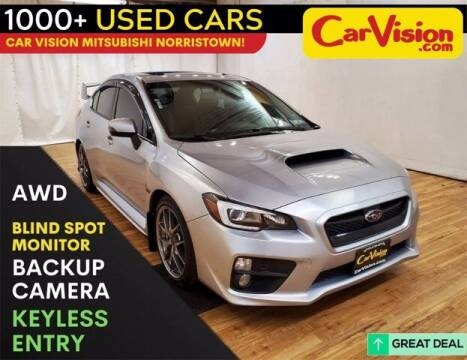 2017 Subaru WRX for sale at Car Vision Buying Center in Norristown PA