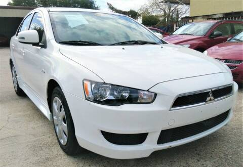 2015 Mitsubishi Lancer for sale at TEXAS MOTOR CARS in Houston TX