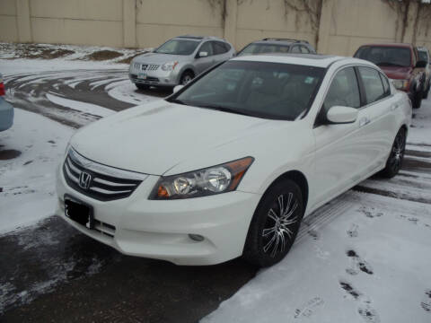 2012 Honda Accord for sale at Metro Motor Sales in Minneapolis MN