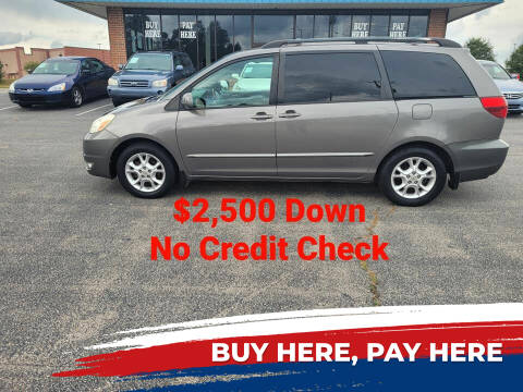 2005 Toyota Sienna for sale at BP Auto Finders in Durham NC