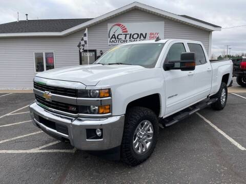 2017 Chevrolet Silverado 2500HD for sale at Action Motor Sales in Gaylord MI