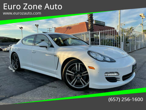 2013 Porsche Panamera for sale at Euro Zone Auto in Stanton CA