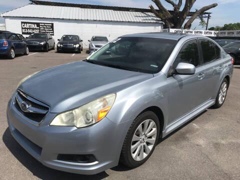 2012 Subaru Legacy for sale at Cartina in Tampa FL