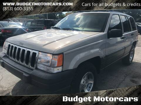 1997 Jeep Grand Cherokee for sale at Budget Motorcars in Tampa FL