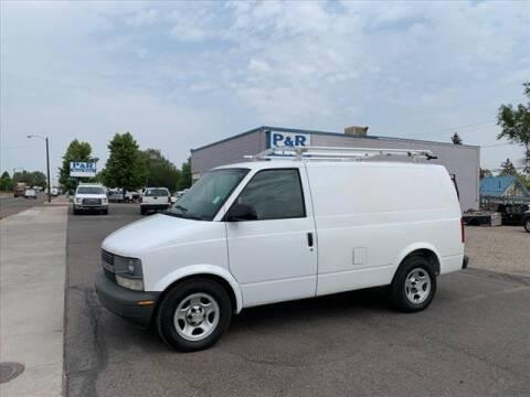 2005 Chevrolet Astro Cargo for sale at P & R Auto Sales in Pocatello ID