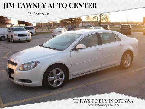 2011 Chevrolet Malibu for sale at Jim Tawney Auto Center Inc in Ottawa KS