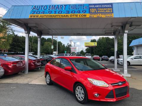2012 Ford Focus for sale at Auto Smart Charlotte in Charlotte NC