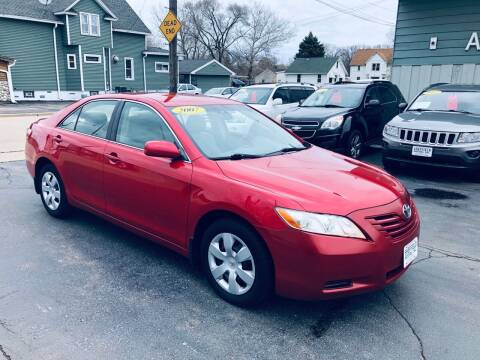2007 Toyota Camry for sale at SHEFFIELD MOTORS INC in Kenosha WI