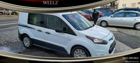 2015 Ford Transit Connect Cargo for sale at WEELZ in New Castle DE