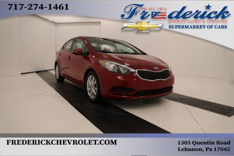 2016 Kia Forte for sale at Lancaster Pre-Owned in Lancaster PA