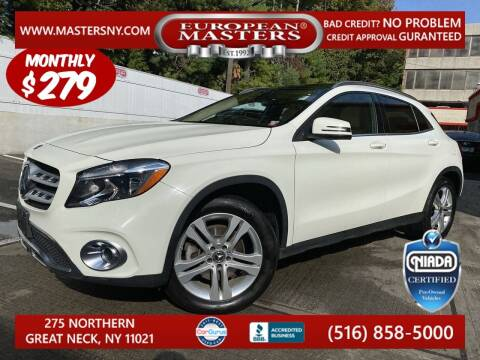 2018 Mercedes-Benz GLA for sale at European Masters in Great Neck NY