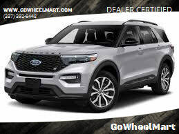 2020 Ford Explorer for sale at GoWheelMart in Leesville LA