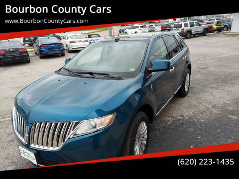 2011 Lincoln MKX for sale at Bourbon County Cars in Fort Scott KS