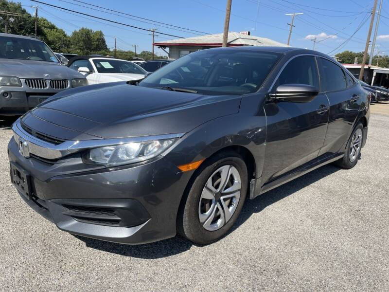 2018 Honda Civic for sale at Pary's Auto Sales in Garland TX
