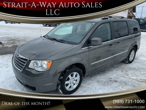 2010 Chrysler Town and Country for sale at Strait-A-Way Auto Sales LLC in Gaylord MI
