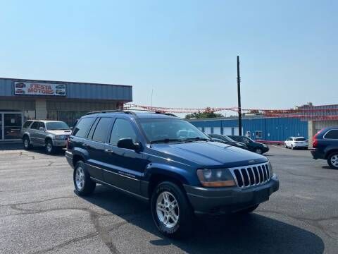 2001 Jeep Grand Cherokee for sale at FIESTA MOTORS in Hagerstown MD
