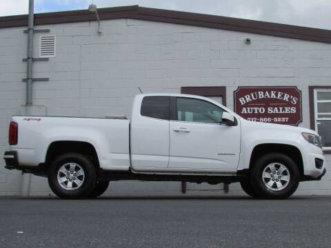 2016 Chevrolet Colorado for sale at Brubakers Auto Sales in Myerstown PA