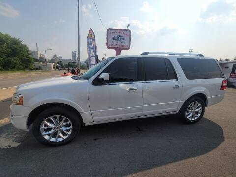 2015 Ford Expedition EL for sale at Ford's Auto Sales in Kingsport TN