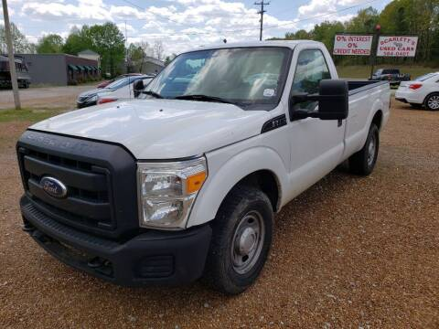 2011 Ford F-250 Super Duty for sale at Scarletts Cars in Camden TN