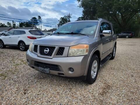 2008 Nissan Armada for sale at Southeast Auto Inc in Walker LA