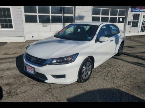 2013 Honda Accord for sale at Colonial Motors in Mine Hill NJ